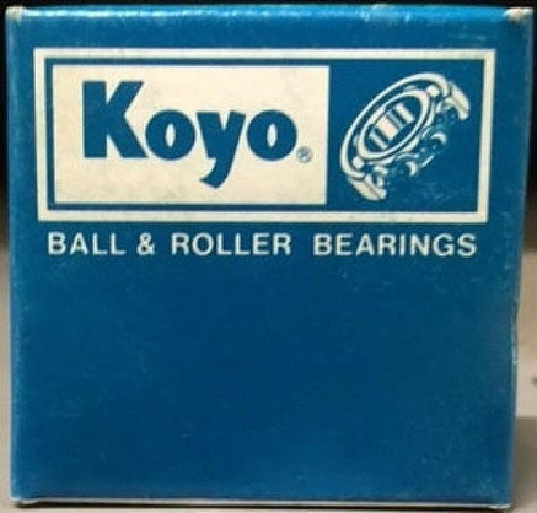 KOYO WJ-243020 Needle Roller Bearing, Radial Roller and Cage, Open, Steel Cag...