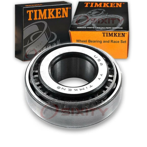 Timken Rear Outer Wheel Bearing & Race Set for 1981-1983 Ford Escort  pp