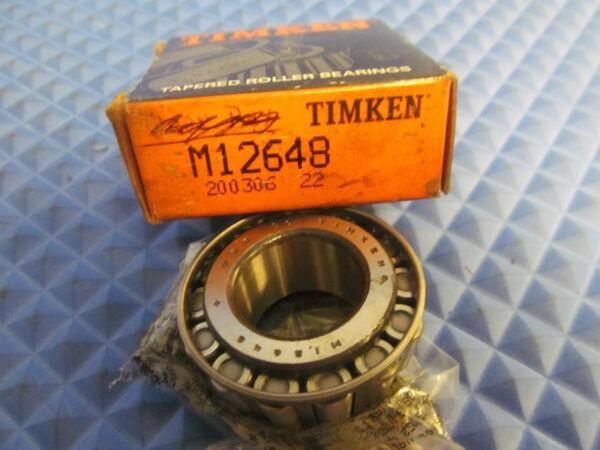 New Timken Bearing M12648