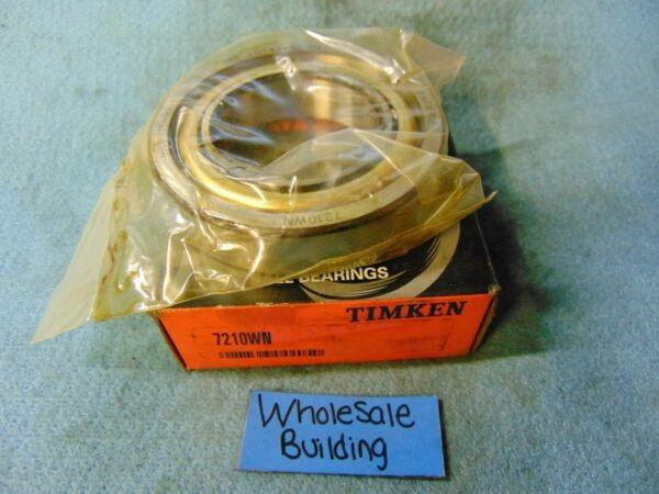 TIMKEN/FAFNIR, ANGULAR CONTACT BEARING, OPEN, 7210WN, 50X90X20MM
