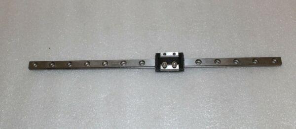 THK Linear Slide Bearing 28.4cm Long Rail with 1 of RSR9ZM Block