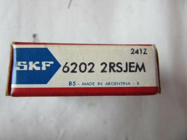 SKF 6202-2RSJEM Roller Bearing NEW!!! Free Shipping