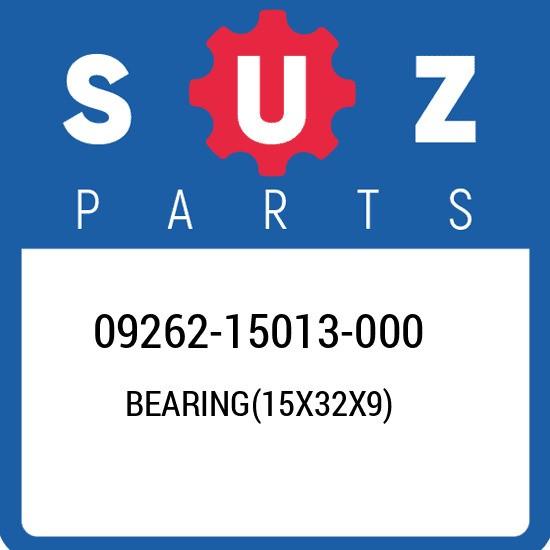 09262-15013-000 Suzuki Bearing(15x32x9) 0926215013000, New Genuine OEM Part