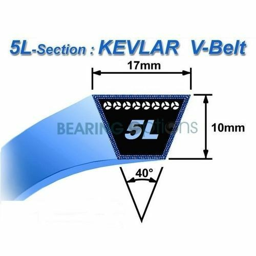 Replacement John Deere M82258 Primary Variator Belt 110, 210, 212, 214, 216