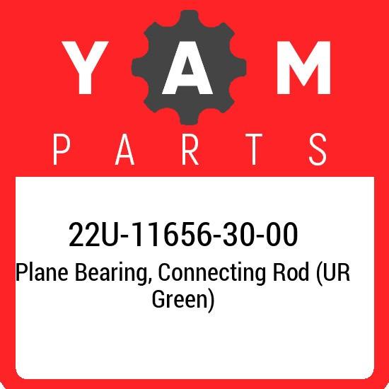 22U-11656-30-00 Yamaha Plane bearing, connecting rod (ur green) 22U116563000, Ne
