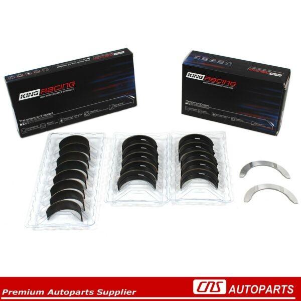KING Race Performance Main Rod Bearing Set 97-01 Honda Prelude VTEC 2.2L H22A4