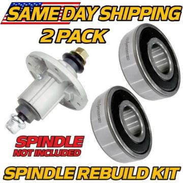 (2 Pk) Spindle Rebuild Bearings John Deere Tractors 115, 125, 135, 145,170, 175