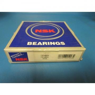 NSK 7314BYG, 7314 BYG, 7317B, Single Row Angular Bearing (SKF, FAG, NTN)