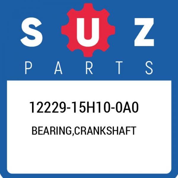 12229-15H10-0A0 Suzuki Bearing,crankshaft 1222915H100A0, New Genuine OEM Part #1 image