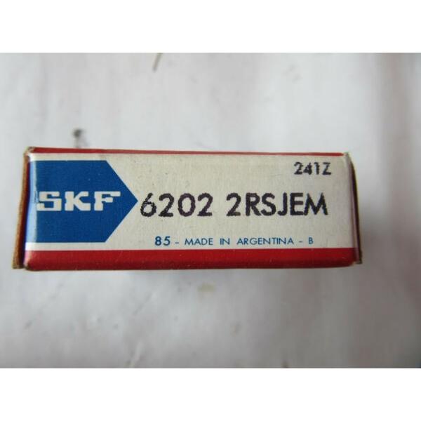 SKF 6202-2RSJEM Roller Bearing NEW!!! Free Shipping #1 image