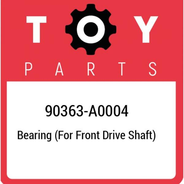 90363-A0004 Toyota Bearing (for front drive shaft) 90363A0004, New Genuine OEM P #1 image